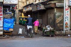 Manekchowk Streets IMG_1300 by Indresh Gupta