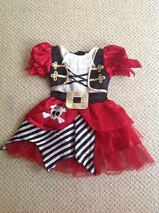 girl pirate party | Details about Girls Pirate Party Fancy Dress Outfit Halloween Costume ...