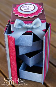 These Surprise Stepper Boxes Make Great Gifts Or Can Be Used As Advent Calendars