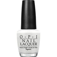 OPI Soft Shades Nail Lacquer Collection Alpine Snow