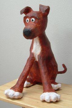 Casa de Linda Student Art Gallery: ADULT PAPIER MACHE PROJECTS SPRING 2010