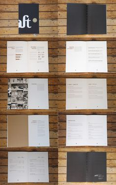 Craft Victoria  Annual Report by Pascal Set Sail, via Behance