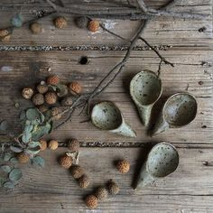 I got a little excited with grey skies and quandong seeds yesterday and possibly they will be in every single photo for my up and coming shop update. Happy new week lovelies X Ilona