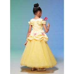 McCall's Children's and Girls' Costumes - Size Kids Corsage, Girl Costumes, Talbots, Bodice, Contrast, Sewing Patterns, Peplum, Flower Girl Dresses, Wedding Dresses