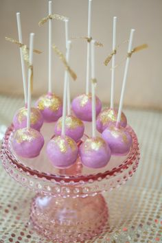 Pink, Purple, and Gold Disco themed birthday party with Lots of Cute Ideas via Kara's Party Ideas | Cake, decor, cupcakes, games and more! KarasPartyIdeas.com #discoparty #girlparty #disco #partydecor #partyplanning #partyideas (19)