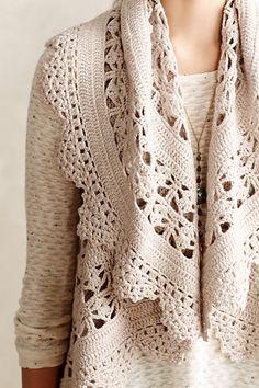 Lisette Crochet Vest #anthrofave
