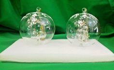Lenox American by Design Crystal Wonder Ornaments Nativity & Christmas Tree New