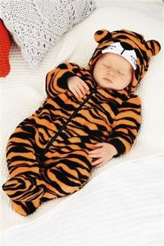 Tiger Fleece All-In-One (0-18mths) from Next