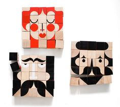 UK design studio millergoodman launched a new block toy called FaceMaker.