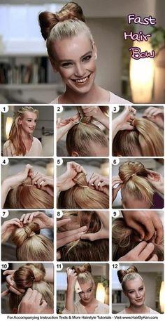 Fast Hair Bow