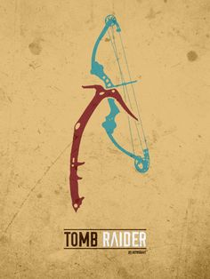 Minimal Poster (Tomb Raider) •astronaut