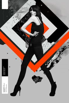 Graphic series - Graphics designed by Anthony Neil Dart Gfx Design, Layout Design, Design Graphique, Art Graphique, Graphic Illustration, Graphic Art, Banners, Foto Fashion, Design Poster