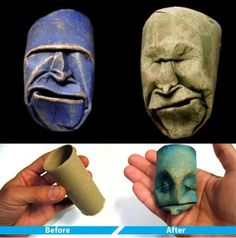 6 Most Creative & Useful Toilet Paper Roll Crafts   Azura Banyak Cakap