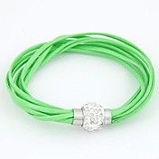Leather Bracelet Multilayer Bright All-match ... – USD $ 2.99