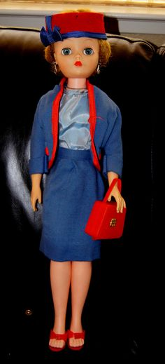 Vintage 1960's Deluxe Candy Fashion Doll by UnnecessaryNecessity, $145.00