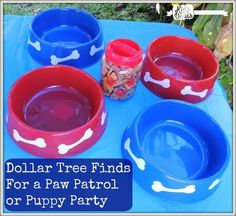 Cheap Paw Patrol Birthday Party ideas