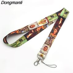 5d7297077 P2062 Dongmanli Mexican artist Lanyards For Keys ID Card Pass Gym Mobile  Phone USB Badge Holder Hang Rope Lariat Lanyard Review