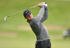 Ready for Irish Open Rory McIlroy of Northern Ireland watches his second shot on the 1st fairway during the Dubai Duty Free Irish Open Golf Championship Pro-Am on Wednesday at The K Club in Straffan, Co. Kildare, Ireland.