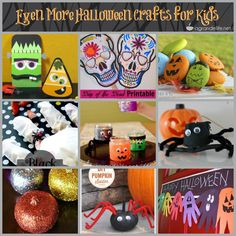 #Halloween #Crafts for Kids