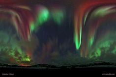 Aurore boréale (Norvège) Image Crédit & Copyright: Sebastian Voltmer
