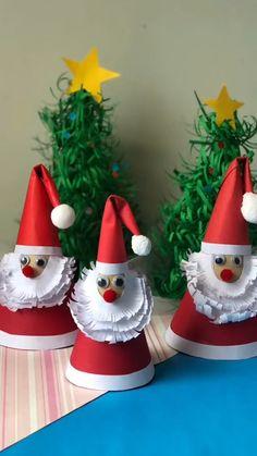 Christmas Arts And Crafts, Christmas Ornament Crafts, Holiday Crafts, Christmas Diy, Holiday Decor, Paper Crafts For Kids, Fun Crafts, Sewing Diy, Fabric Crafts