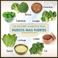 Alimentos para huesos fuertes -