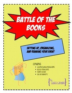 Battle of the Books is a highly engaging reading incentive program that is perfect for the classroom or as a school wide event. This document is EVERYTHING you need to know to run a successful competition: how to organize your event, kick it off to your students, select your books, and run your actual competition.