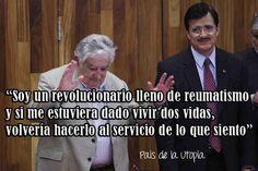 """""""Pepe"""" Mujica, cerró el discurso de más de 45 minutos con el que agradeció el premio """"Corazón de León"""""""