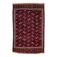 Yomut Main Carpet Late 19th century, 311 x 195 cm, Central Asia, West Turkestan dyrnak gül