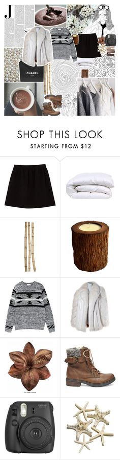 """☾; hacked by tesla c:"" by oreokk22 ❤ liked on Polyvore featuring Vanity Fair, Comptoir Des Cotonniers, Chanel, Crate and Barrel, Vascolari, Steve Madden, women's clothing, women's fashion, women and female"