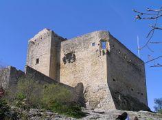 The Castle at Vaison La Romaine