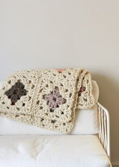 Granny Square Blanket in Gentle Giant   Purl Soho More
