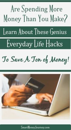 Everyday Life Hacks That Save A Ton of Money - Smart Money Journey - Are you short on cash each month? Let us show you 7 incredibly easy everyday life hacks that will s - Saving Money Weekly, Money Saving Meals, Money Savers, Money Plan, Money Tips, Frugal Living Tips, Frugal Tips, Making A Budget, Managing Your Money