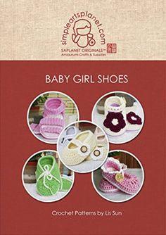 Baby Girl Shoes Crochet Pattern: Patterns