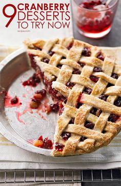 Cranberry Desserts to Try Now