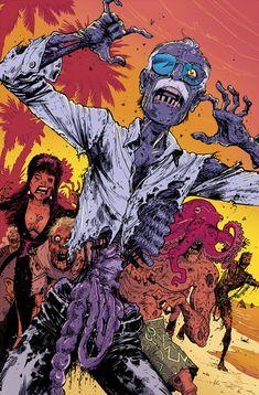 Zombie Stan Lee by Tony Moore by whoisrico.deviantart.com on @deviantART
