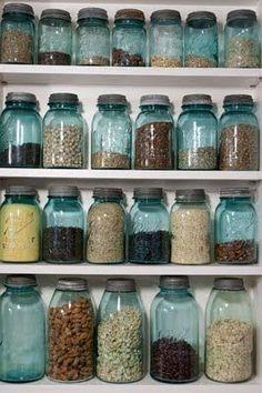 love blue ball jars, especially with zinc lids