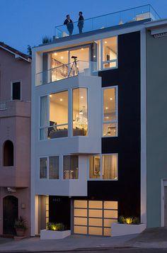 San Francisco contemporary home by Doyle McCullar