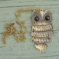 Owl Neclace