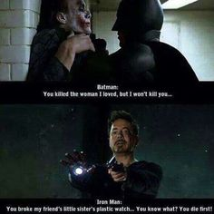 And that's why Iron man gets stuff done. #MarvelousJokes @marvelousjokes #funny…