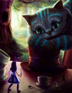 ✝☮✿★ Cheshire Cat ✝☯★☮