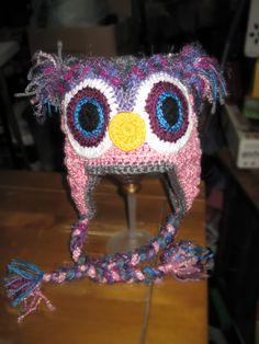 owl crochet Crochet Owl Hat, Beanie, Beanies, Beret
