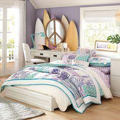 Paramount Bed + Desk Set | PBteen