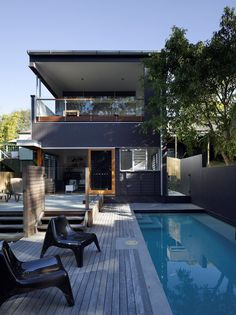 Challenging Australian Home Design Polished to Perfection - http://freshome.com/2015/02/04/challenging-australian-home-design-polished-to-perfection/