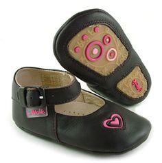 Bobux I-Walk Junior Chocolate Mary Jane $33.95 http://www.meandmyfeet.com/product/BX%20IWJ-MJCH #Chocolate #MaryJane #Shoes #Junior