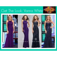 "Vanna White is known for being a superstar on ""The Wheel Of Fortune"" however, she is also known for wearing the most amazing dresses on the show as well! Recently she wore two dresses by the designer Faviana and she looked stunning, don't you agree?! Well now you can get her look for prom because we carry both dresses by the designer! Both of these dresses are super glamorous and you will look great in them at prom!   #edressme"