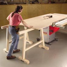Let Horses Carry the Load - Woodworking Shop - American Woodworker