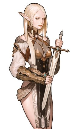images like anime girl fantasy Character Creation, Game Character, Character Concept, Concept Art, Girls Characters, Fantasy Characters, Female Characters, Fantasy Armor, Medieval Fantasy