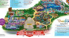 California Adventure Map 2014
