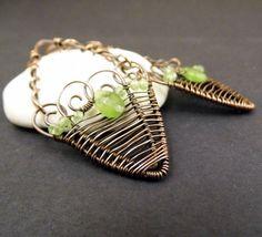 Basket Earrings | JewelryLessons.com